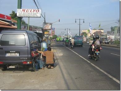 Jalan Jogja-Solo, kabupaten Klaten